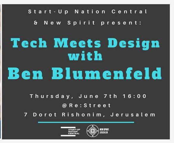 Cover of Tech Meets Design with Ben Blumenfeld