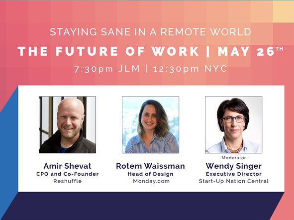 Cover of Tech Meets Design The Future of Work webinar