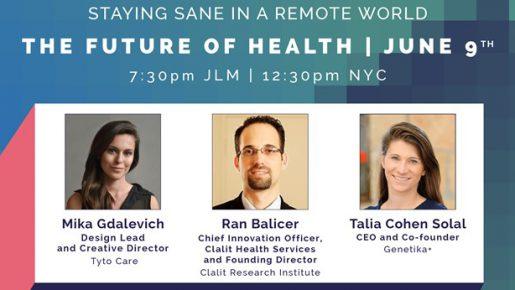 Cover of Tech Meets Design The Future of Health webinar
