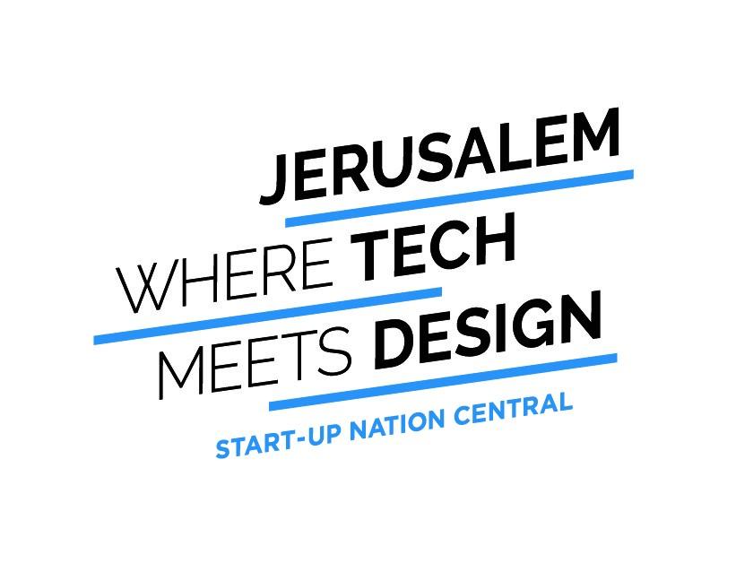 Jerusalem Where Tech Meets Design Logo